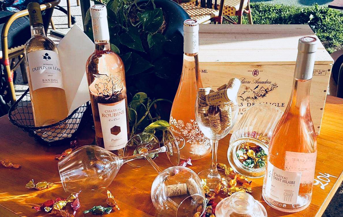 Les Vins RosésNotre carte au Vieux Marché